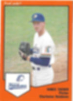 Vance Tucker Pitcher1989 charleston rainbows minor league baseball