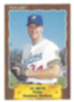 1990 charleston rainbows minor league baseball player Ed Zinter Pitcher