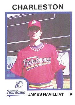 James Navillat Baseball Pitcher