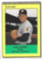 1991 charleston rainbows minor league baseball player Craig Eubanks Pitcher