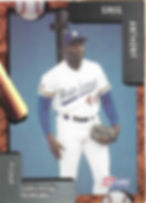 charleston rainbows 1992 minor league baseball card player Greg Anthony Pitcher