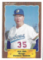 1990 charleston rainbows minor league baseball player Jack Krol Manager