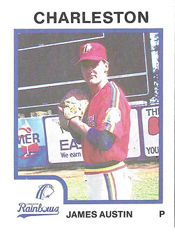 James Austin Baseball Pitcher charleston