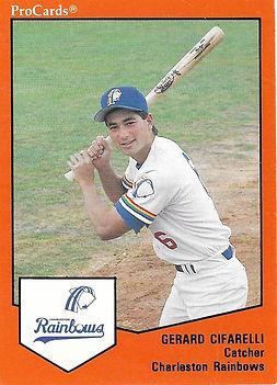 Gerard Cifarelli catcher baseball