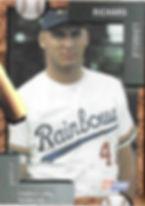 charleston rainbows 1992 minor league baseball card player Richard Loiselle