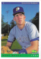charleston rainbows 1993 minor league baseball card player catcher scott sealey