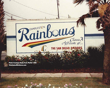 rainbows stadium mural charleston