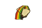 rainbows enameled pin
