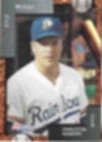 charleston rainbows 1992 minor league baseball card player Kyle Moody IF