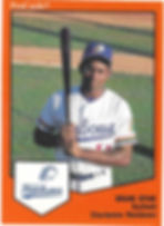 Brian Span baseball1989 charleston rainbows minor league baseball