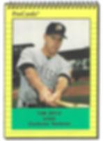 1991 charleston rainbows minor league baseball player Tom Doyle Infield