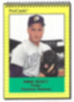 1991 charleston rainbows minor league baseball player Robbie Beckett Pitcher