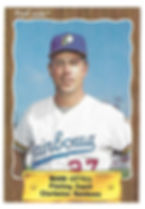 1990 charleston rainbows minor league baseball player Mark Littell pitching Coach