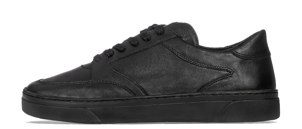 LOW TRAINERS BLACK