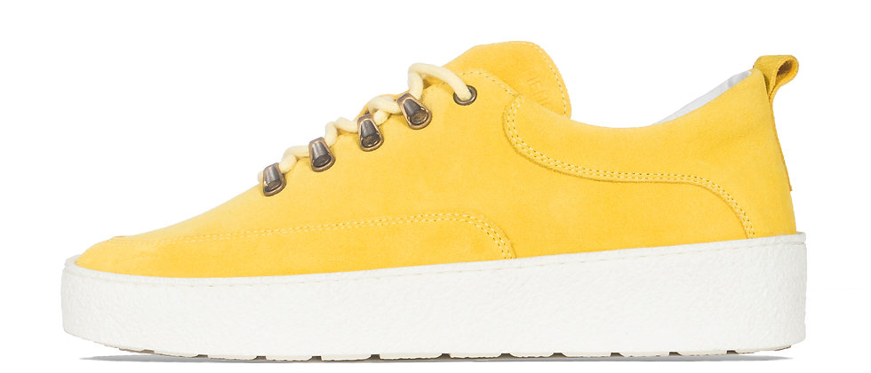 LOW WES YELLOW SUEDE