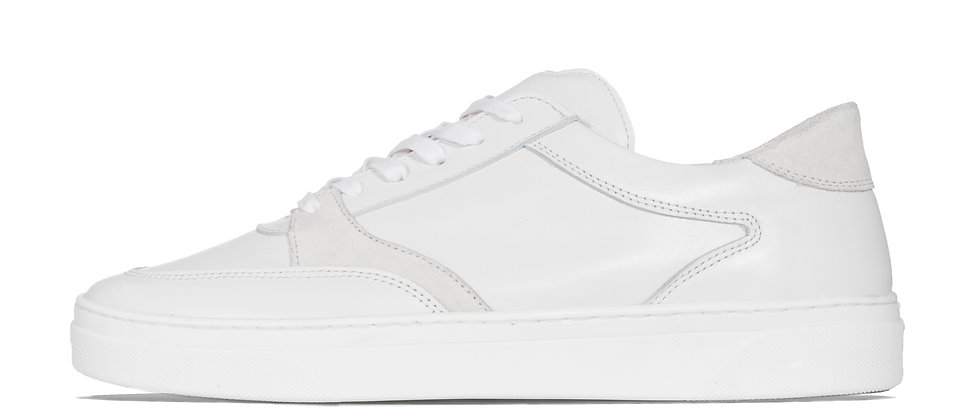 LOW TRAINER WHITE/WHITE