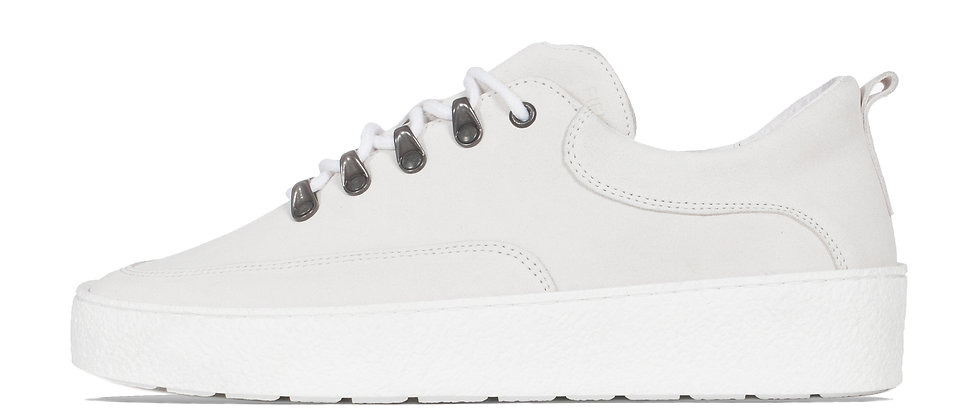 LOW WES WHITE SUEDE