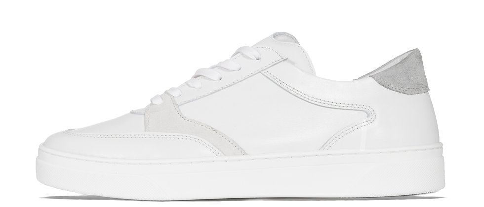 LOW TRAINER WHITE/GREY