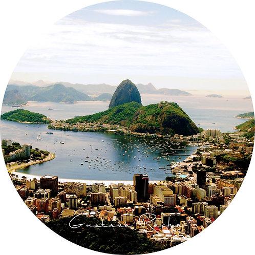 1 Porta Copos - Individual Cerâmico Rio de Janeiro - Mirante - Gustavo Rocha