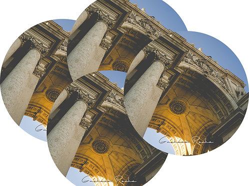 Kit Porta Copos, 4 Cerâmicas - Lisboa Portal - Portugal - Gustavo Rocha