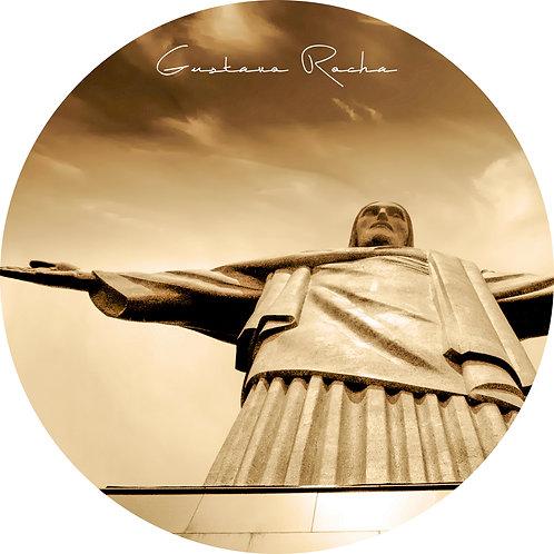 1 Porta Copos - Individual - Cristo Redentor RJ -  Gustavo R