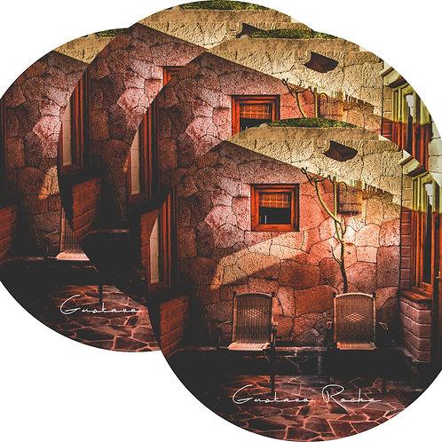 Kit Porta Copos, 4 Cerâmicas - Atacama  - Arquitetura - Gustavo Rocha