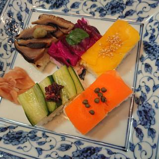 Veggie Box sushi