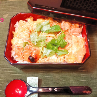 CHICKEN AND EGG RICE BOWL