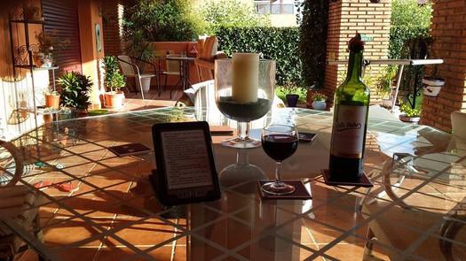 My terrace in Casares