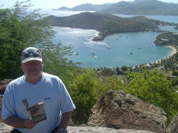 Me in Antigua