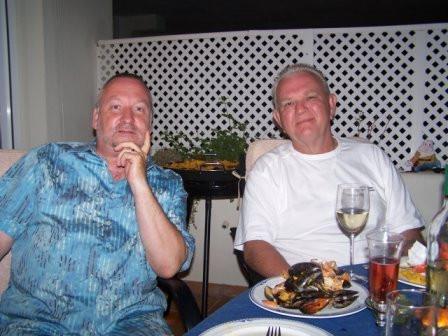Me & Tony in Spain
