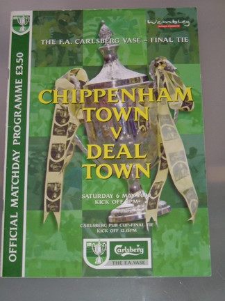 Deal Town winning FA Vase