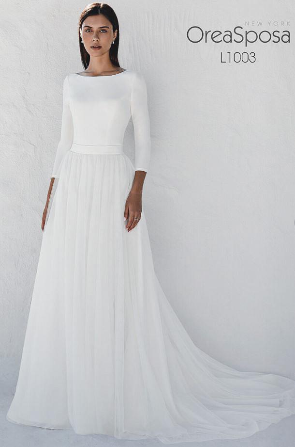figurbetonendes Hochzeitskleid