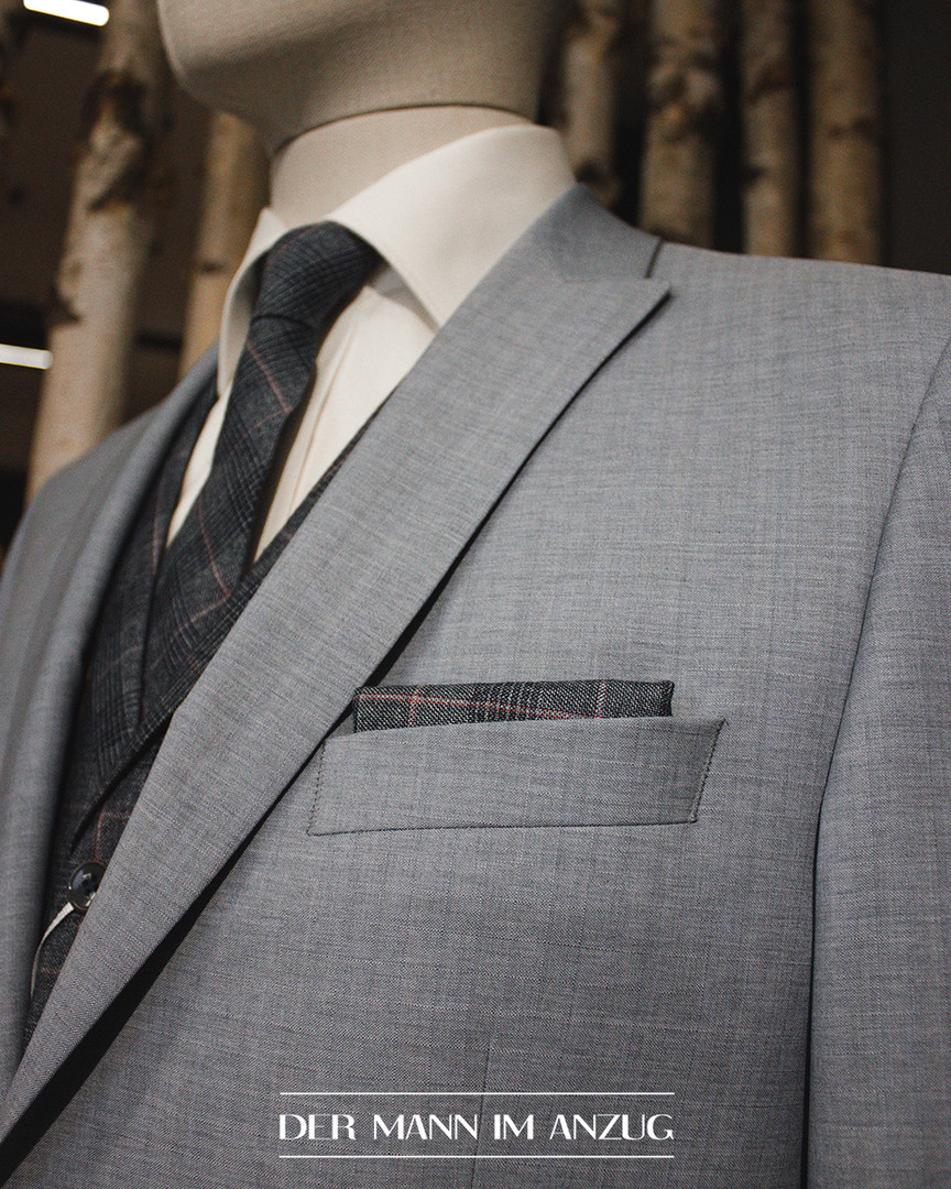 Anzug Kravatte