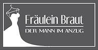Logo Fräulein Braut für Brautmode, Figurtyp angepasste Hochzeitskleider