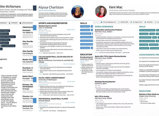 The Perfect Media Resume To Open Doors In Your Career Transition!