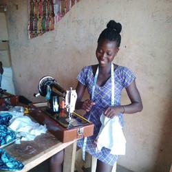 Dorcas Haruna, Student