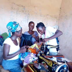 Trade-ing Up Dressmakers working together