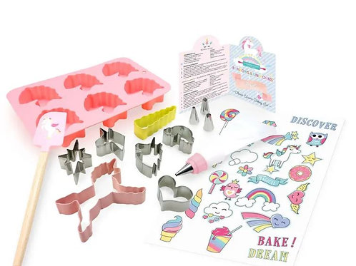 Unicorn Baking Party Set