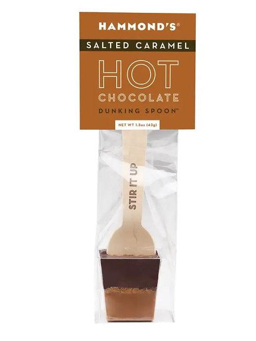 Chocolate Dunking Spoon Salted Caramel Dark 1.5oz