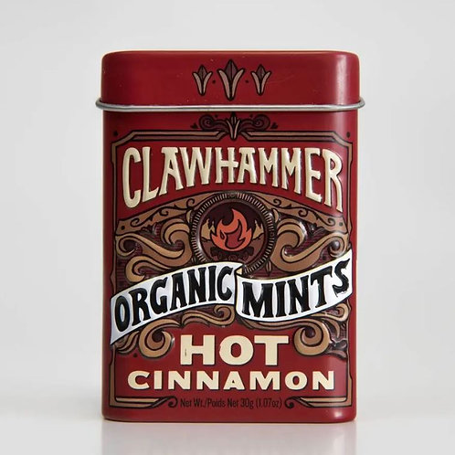 Clawhammer Certified Organic Mints - Hot Cinnamon