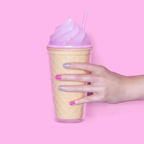 Ice Cream Tumbler - Pink