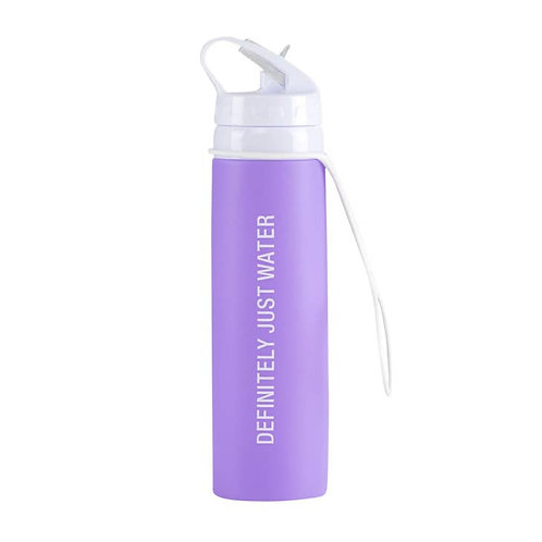 Just Water  Silicone Water Bottle