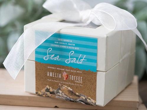 Sea Salt Toffee - 6oz Ivory Gift Box
