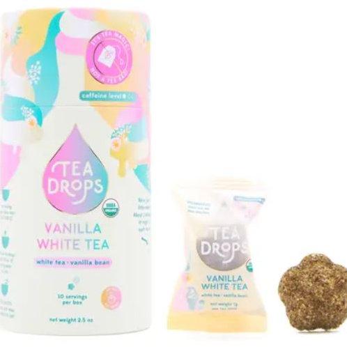 Vanilla White Tea - Tea Drops - Tea Retail Cylinder