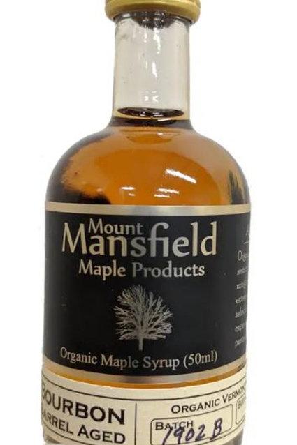 50 ml - Organic Bourbon Barrel Aged Vermont Maple Syrup
