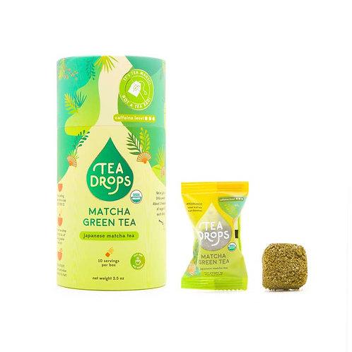 Matcha Tea Retail Cylinder - Tea Drops Retail Cylinder