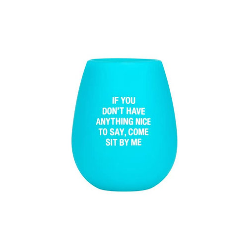 Sit By Me Silicone Wine Cup
