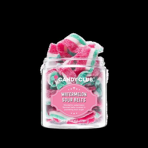 Watermelon Sour Belts - Candy Club