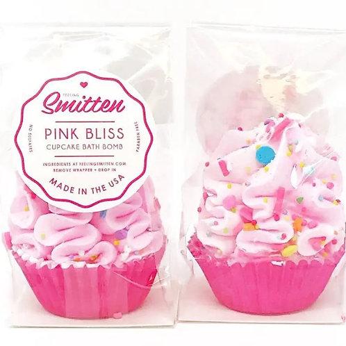 Mini Pink Bliss Cupcakes Bath Bombs